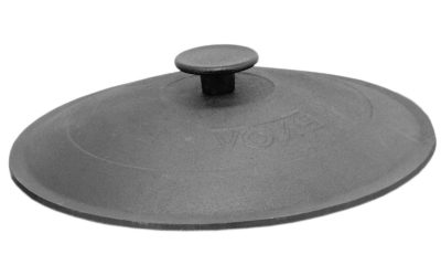 26cm Gusseisen Topfdeckel Pfannendeckel Kochtopfdeckel Deckel universal