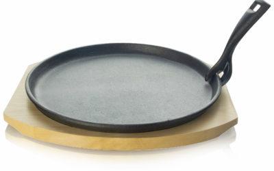 Servierpfanne aus Gusseisen 25cm